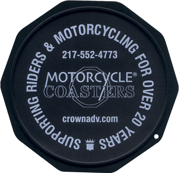 Custom Imprinted Motorcycle Coasters®